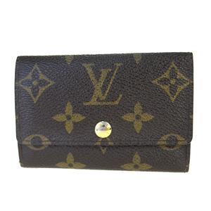 ルイ・ヴィトン(Louis Vuitton) モノグラム ミュルティクレ 6 M62630 PVC キーケース ブラウン