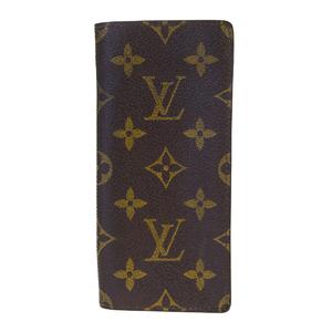 ルイ・ヴィトン(Louis Vuitton) モノグラム エテュイリュネット サーンプル M62962 メガネケース(ソフトケース), ブラウン
