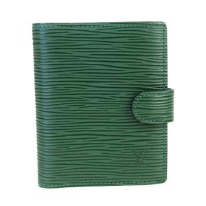 ルイ・ヴィトン(Louis Vuitton) エピ 手帳 ボルネオグリーン アジェンダ ミニ R20074
