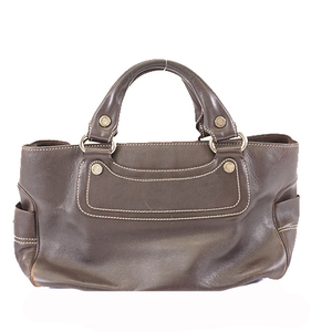 Celine Handbag Boogie Bag Women's Handbag Tote Bag Dark Brown