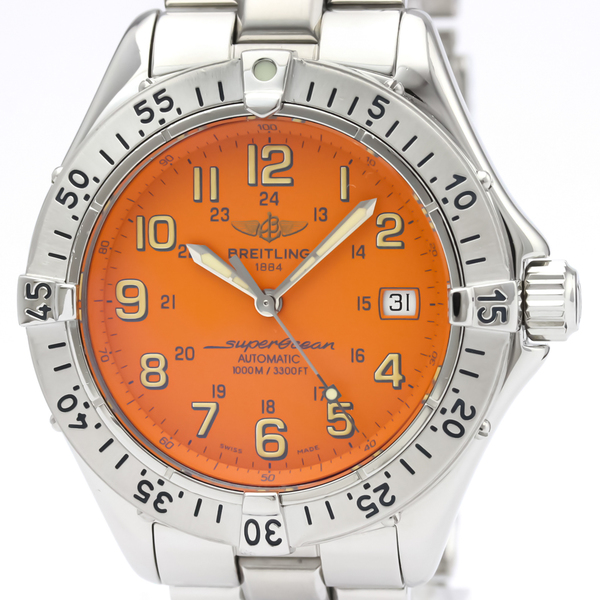 Breitling Superocean Automatic Stainless Steel Men's Sports Watch A17340