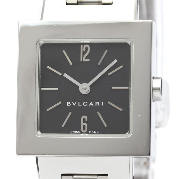 Bvlgari Quadrato Quartz Stainless Steel Women's Dress Watch SQ22SS