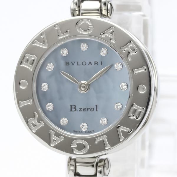 Bvlgari B.zero1 Quartz Stainless Steel Women's Dress Watch BZ22S