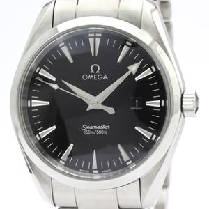 【OMEGA】オメガ シーマスター アクアテラ ステンレススチール クォーツ メンズ 時計 2517.50