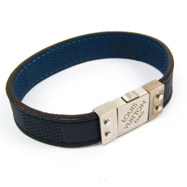 Louis Vuitton Damier Infini Brasserie Checkit M6716E Damier Infini Bracelet Blue,Navy