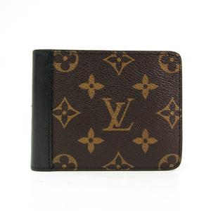 ルイ・ヴィトン(Louis Vuitton) モノグラム・マカサー ポルトフォイユ・ガスパル M93801 ユニセックス モノグラム 札入れ(二つ折り) モノグラム・マカサー