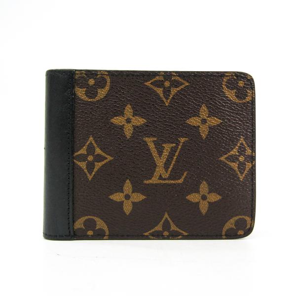 Louis Vuitton Monogram Macassar Portfoieuil Gaspar M93801 Unisex Monogram Bill Wallet (bi-fold) Monogram Macassar
