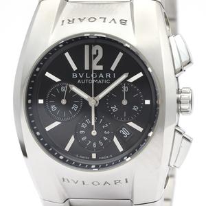 BVLGARI Ergon Chronograph Steel Automatic Mens Watch EG35SCH