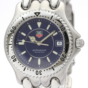 Tag Heuer Sel Quartz Stainless Steel Men's Dress Watch WG111A