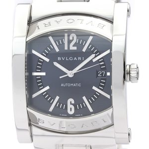 BVLGARI Assioma Stainless Steel Automatic Mens Watch AA48S