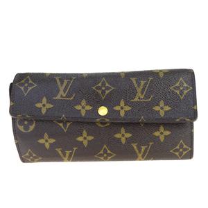 ルイ・ヴィトン(Louis Vuitton) ポシェット ポルトモネ クレディ M61726 モノグラム 長財布(二つ折り) モノグラム