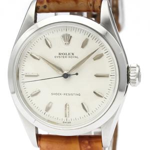 ロレックス(Rolex) オイスター・ロイヤル 手巻き ステンレススチール(SS) ユニセックス ドレスウォッチ 6444
