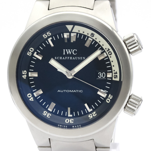 IWC Aquatimer Automatic Stainless Steel Men's Sports Watch IW354805
