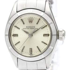 【ROLEX】ロレックス オイスター パーペチュアル 6623 ステンレススチール 自動巻き レディース 時計