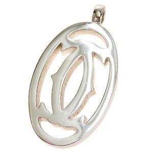 Cartier Metal Pendant (Silver)