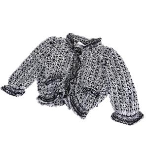 シャネル(Chanel) レディース カーディガン 34 (ブラック,ホワイト)