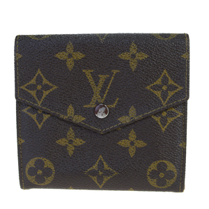 Louis Vuitton Portumone Bier Cult Credit M61660 Leather Wallet (tri-fold) Monogram