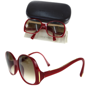 Louis Vuitton Sunglasses Red Color Gina Z0075E
