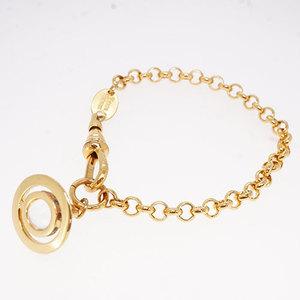 ヴィヴィアンウエストウッド New Petit Orb Bracelet プチオーブ GPメッキ クリスタルストーン ゴールカラー