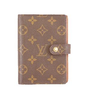 Auth Louis Vuitton Monogram Planner Cover R20005