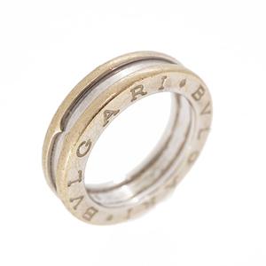 ブルガリ リング ビーゼロワン B-zero1 1バンドリング K18WG ホワイトゴールド 指輪