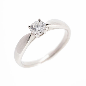 ティファニー リング ハーモニー ソリテール ダイヤモンド 0.20ct Pt950 プラチナ