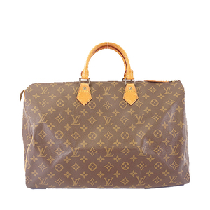 Auth Louis Vuitton Monogram Speedy 40 M41106 Women's Boston Bag,Handbag