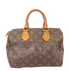 Auth Louis Vuitton Monogram Speedy 25 M41109 Boston Bag,Handbag