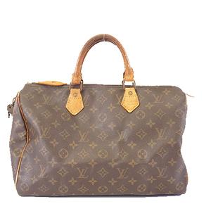 Auth Louis Vuitton Monogram Speedy 35 M41107 Boston Bag,Handbag