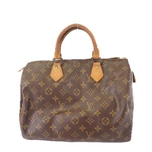 Auth Louis Vuitton Monogram Speedy30 M41108 Boston Bag,Handbag