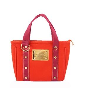 Auth Louis Vuitton Antigua CabaPM M40037 Women's Handbag Rouge