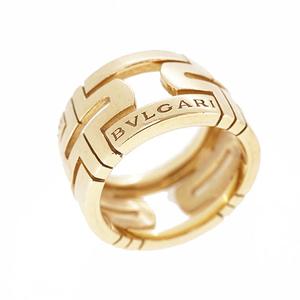 ブルガリ リング パレンテシ K18YG イエローゴールド 指輪
