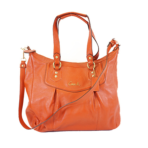 Auth Coach 2WAY Bag  F20104 Women's Leather Handbag,Shoulder Bag