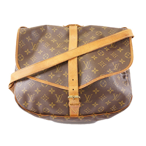 Auth Louis Vuitton Monogram M42254 Women's Shoulder Bag Monogram