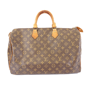 Auth Louis Vuitton Monogram Speedy 40 M41106 Women's Boston Bag,Handbag Monogram