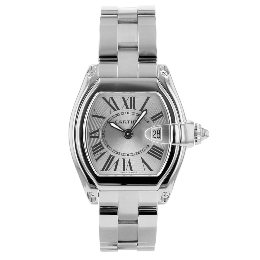 Cartier Roadster Quartz Stainless Steel Women's Casual Watch W62016V3