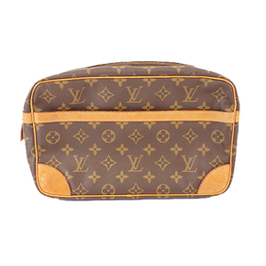 Auth Louis Vuitton Monogram Compiegne28 M51845 Men,Women,Unisex Clutch Bag,Pouch