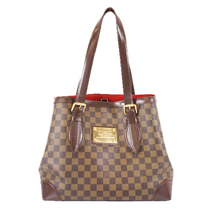 Auth Louis Vuitton Damier N51204 Women's Handbag,Shoulder Bag,Tote Bag Ebene