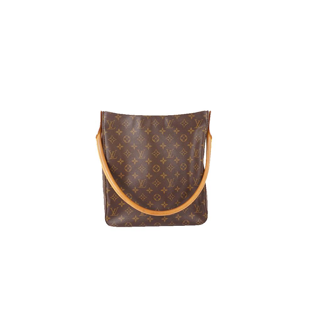 Auth Louis Vuitton Monogram M51145 Women's Shoulder Bag Brown