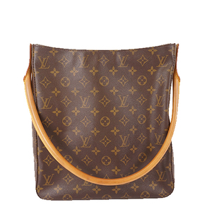 Auth Louis Vuitton Monogram M51145 Women's Shoulder Bag Brown