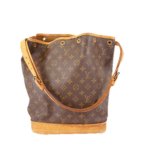 Auth Louis Vuitton Monogram M42224 Women's Shoulder Bag Brown
