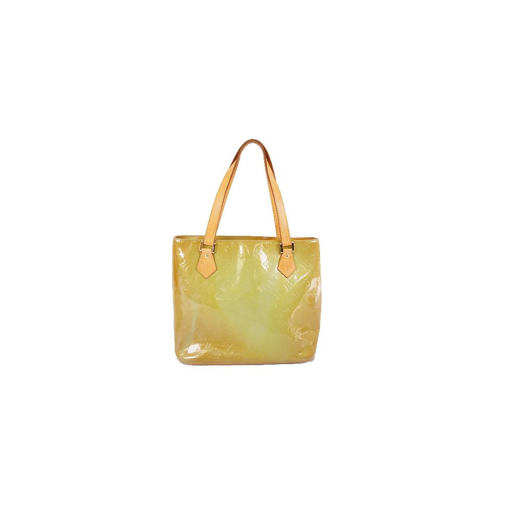 Auth Louis Vuitton Monogram Vernis M91005 Women's Handbag,Tote Bag Baby Blue
