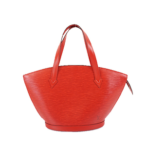 Auth Louis Vuitton Epi M52277 Women's Handbag,Tote Bag Castilian Red