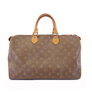 Auth Louis Vuitton Monogram Speedy 35 M41107 Women's Handbag