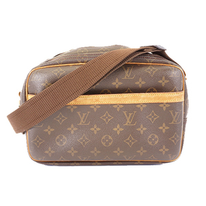 Auth Louis Vuitton Monogram Reporter PM M45254 Women's Shoulder Bag