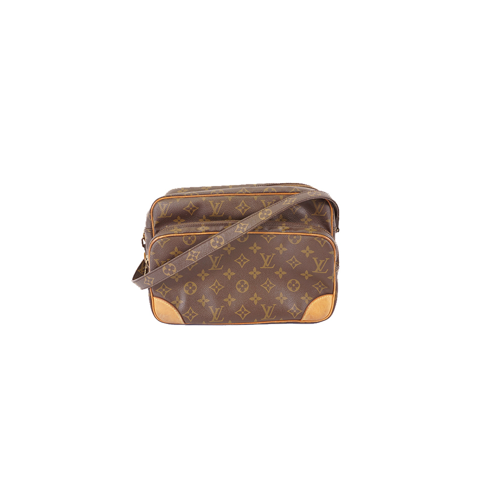 Auth Louis Vuitton Monogram Nile M45244 Women's Shoulder Bag