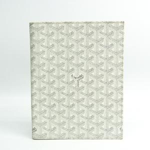 ゴヤール(Goyard) 手帳 ホワイト ノートブックカバー/アジェンダカバー