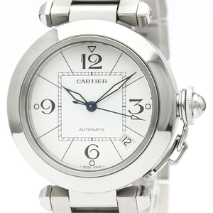 CARTIER Pasha C Steel Automatic Unisex Watch W31074M7
