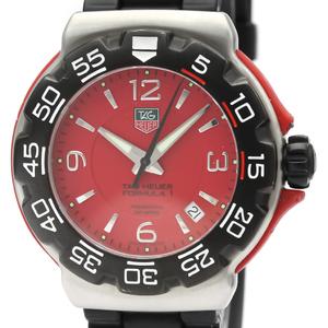 Tag Heuer Formula 1 Quartz Stainless Steel Men's Sports Watch WAC1113