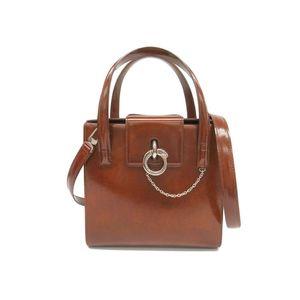 Cartier Panthère L1000351 Women's Leather Handbag Brown